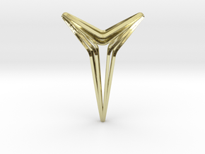 YOUNIVERAL Star S.01 Pendant in 18k Gold Plated Brass