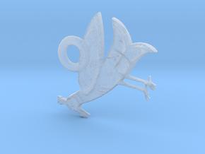Bird in Smooth Fine Detail Plastic