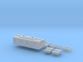 N Scale CNJ 1000 in Smoothest Fine Detail Plastic