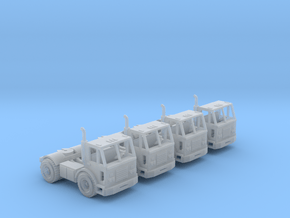 Peterbilt 320 Single Axle Truck N Scale in Smooth Fine Detail Plastic