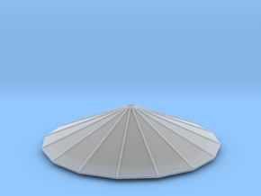 Silo Top in Smooth Fine Detail Plastic