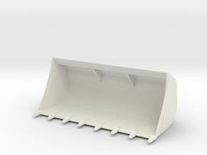 LT Liebherr Heavy Shovel in White Natural Versatile Plastic