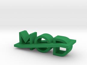 Modlogo6 in Green Processed Versatile Plastic