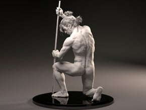 MaleAnatomySculptJivaArts in White Natural Versatile Plastic