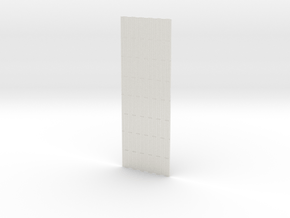 1-32 PSP Marsden Matting INTERMEDIATE PART in White Natural Versatile Plastic