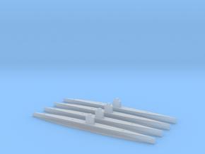 I-201/Sentaka class Submarine 1/2400 x4 in Smooth Fine Detail Plastic