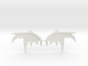 Oryx Wing Sprue in White Natural Versatile Plastic