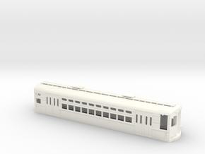 CTA 1-50 Series, Evanston Car in White Processed Versatile Plastic