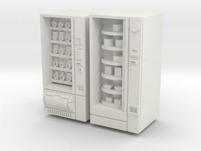28mm/32mm Snack And Food Vending Machine in White Natural Versatile Plastic