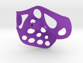 "Stingray Left 3/16"" shaft 3.5"" width in Purple Processed Versatile Plastic"