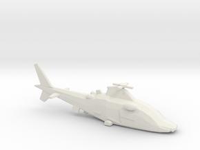 10mm (1/144) Agusta-Westland A109LUH in White Natural Versatile Plastic