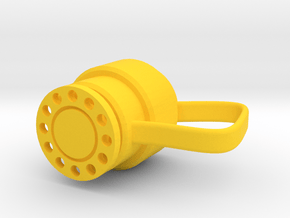 Annular BOP Coffee Cup in Yellow Processed Versatile Plastic