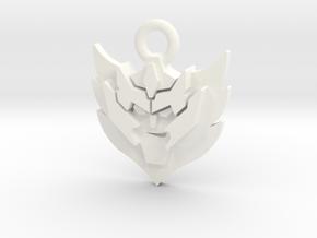 Rodimus Star - Single in White Processed Versatile Plastic