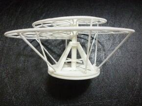 Aerial Screw (Leonardo) in White Natural Versatile Plastic