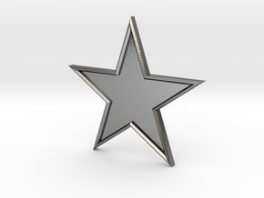 STAR-BASIC-1CHAMPER in Polished Silver