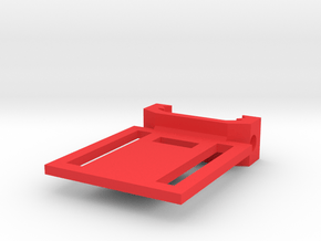 Wearable Camera Picatinny Mount in Red Processed Versatile Plastic
