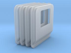 1/64 Peterbilt cab plug. set of 4  in Smooth Fine Detail Plastic