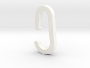 2015 01 24 Haak Kapstok IKEA Hook Skar in White Processed Versatile Plastic