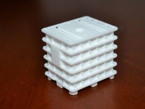 Ibc 1:50 Scale, Budget in White Natural Versatile Plastic