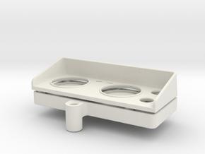 Dashboard in White Natural Versatile Plastic