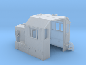 """CA0024 CPR 102"""" SD40-2 Cab, Late, Class Lts """"C"""" in Smoothest Fine Detail Plastic"""