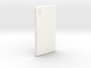 Customizable Xperia Z5 case in White Processed Versatile Plastic