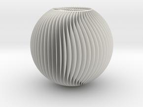 Chandelier 1 in White Natural Versatile Plastic