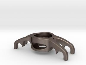Quad Guide V2 - STEEL in Polished Bronzed Silver Steel