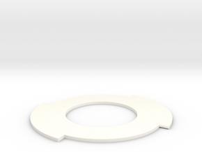 Vorolamp2-bajonet in White Processed Versatile Plastic