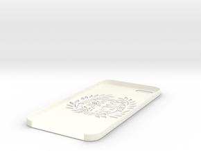 Bamboo bird pattern in White Processed Versatile Plastic