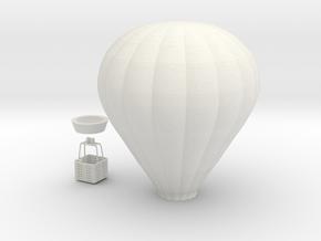 Balloon - Oscale in White Natural Versatile Plastic