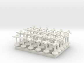 BFG Dawnblade Fighters (x36) in White Natural Versatile Plastic