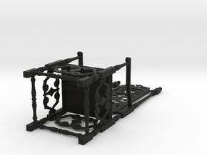 Gothic Chair in Black Natural Versatile Plastic