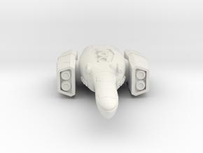 spaceship in White Natural Versatile Plastic
