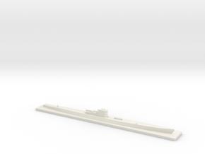 U-505 (1/600) in White Natural Versatile Plastic