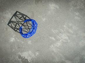 Space Bracelet in Blue Processed Versatile Plastic