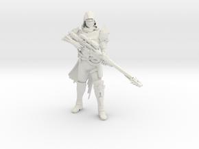 Gunslinger For Kato1334 Shapeways in White Natural Versatile Plastic