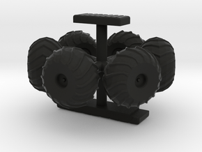 Moon Buggy for True 22 Inch Scaled Eagle - Wheels  in Black Natural Versatile Plastic