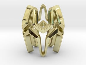 YOUNIVERSAL Airy, Pendant in 18k Gold Plated Brass