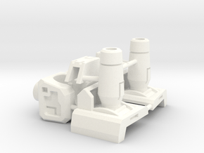Fearsome Gust Armor Pieces in White Processed Versatile Plastic