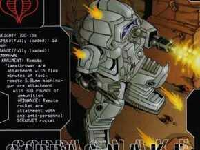 Space Combat Armor 1/87 in White Natural Versatile Plastic