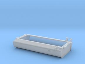 FT0008 GP40-2L Fuel Tank, As Built 1/87.1 in Smoothest Fine Detail Plastic