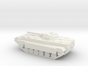 10mm (1/144) BMP-2 (Improvised Spaced Armor) in White Natural Versatile Plastic