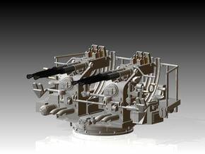Quad Bofors Kit 1/96 in Smooth Fine Detail Plastic