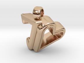 Pendant Design for Joanne in 14k Rose Gold Plated Brass
