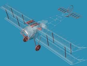 Fokker D.III A Accessories 1/32 in Smooth Fine Detail Plastic