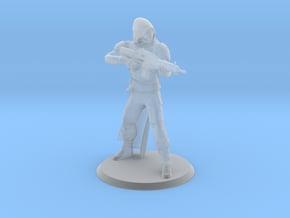 Gunslinger Miniature in Smooth Fine Detail Plastic