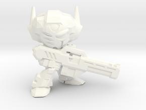 TechDaviuss Type-C Heavy Power Armor in White Processed Versatile Plastic