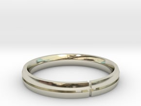 Candice Wedding Ring Final Gold Edition in 14k White Gold