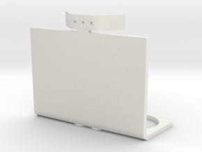 Mag Power Cylinders Base Clip in White Natural Versatile Plastic